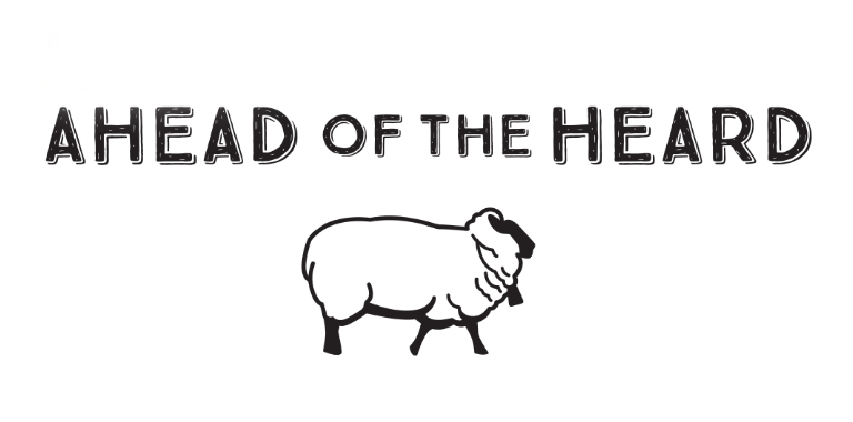 ahead of the heard logo