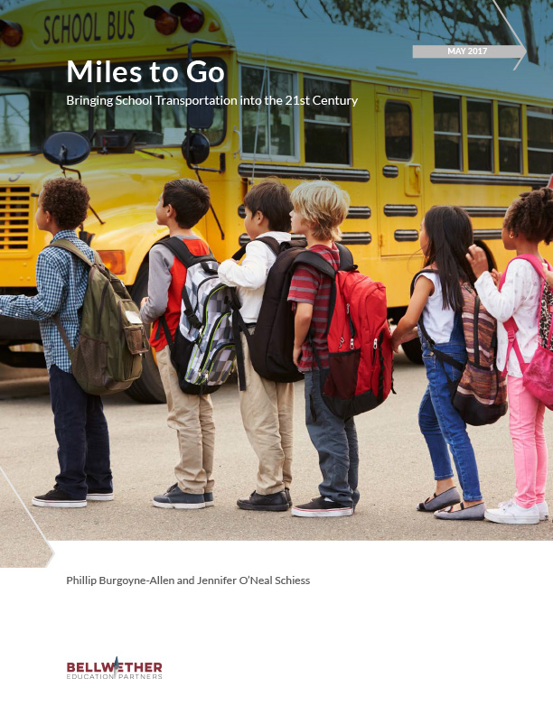 Miles to Go: Bringing School Transportation into the 21st Century Cover Image